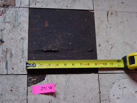 black asbestos mastic - photo #1